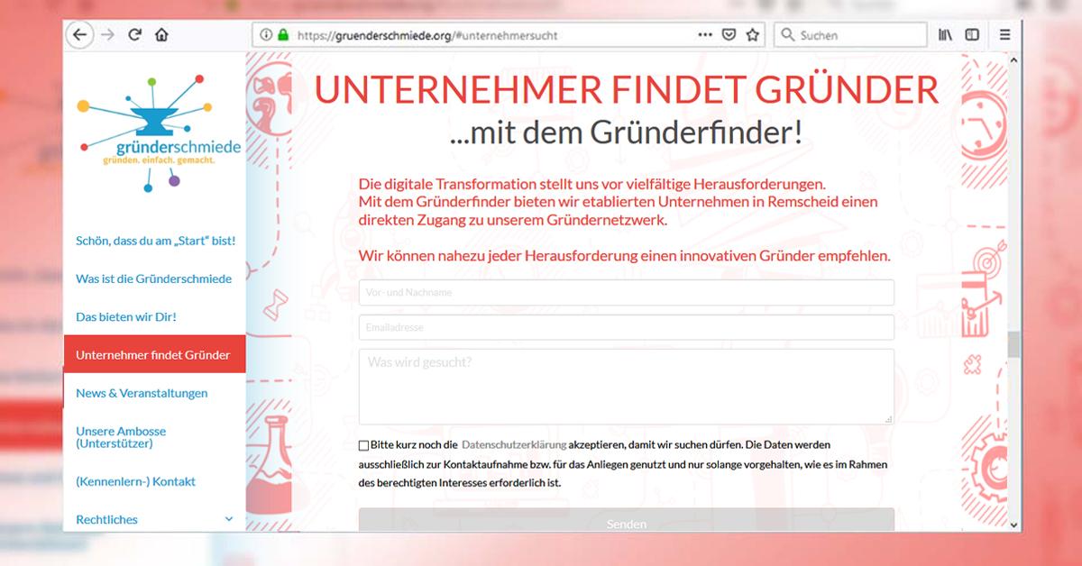 Gründerfinder Remscheid