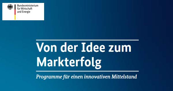Broschüre zu Innovationsförderung