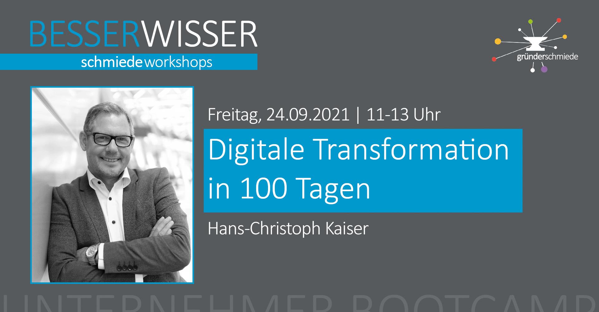 Digitale Transformation in 100 Tagen
