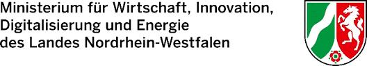 Logo vom Ministerium für Wirtschaft, Innovation, Digitalisierung und Energie des Landes Nordrhein-Westfalen